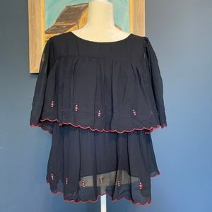 Loft fall blouse sz L *NWOT